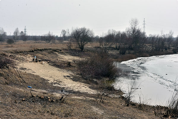Роповское озеро - новый пляж в Гомеле