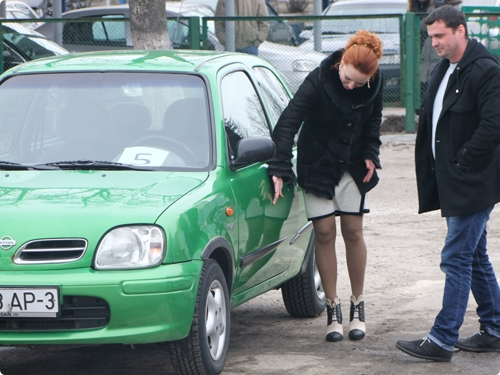 Конкурс среди женщин-водителей - «Автосень-орита-2015»