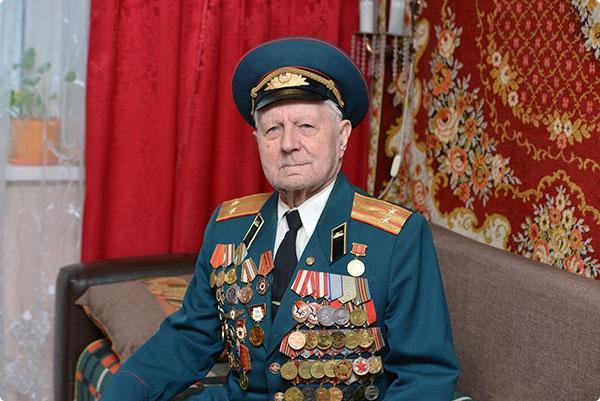 Ветеран Григорий Глушок