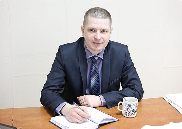 начальник землеустроительной службы Гомельского горисполкома Игорь Дьячков