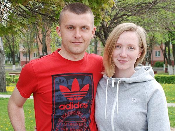 Евгений и Алла, супружеская пара
