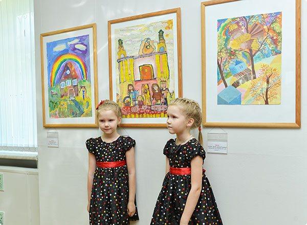В Картинной галерее Ващенко открылась выставка детских рисунков