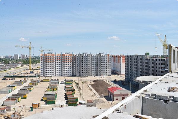 Гомельский ДСК строит 80% жилья в областном центре
