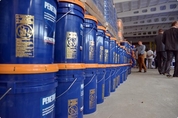 Завод «Пенетрон-Бел» по производству гидроизоляционных материалов открылся в Гомельской области