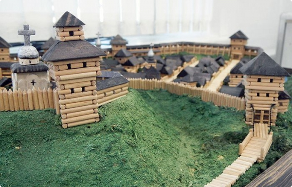 В Гомеле откроется выставка архитектурных макетов из дерева