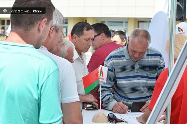 В Гомеле продолжают собирать «кандидатский минимум»
