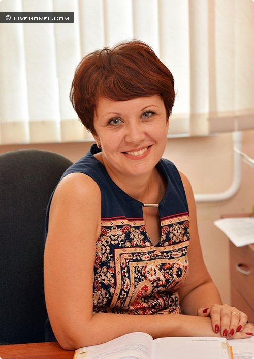 начальник отдела экономики администрации Советского района Гомеля Ольга Калачёва