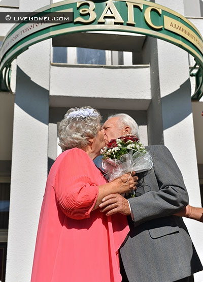 50 лет вместе. Гомельчане отпраздновали золотую свадьбу и поделились рецептом семейного счастья