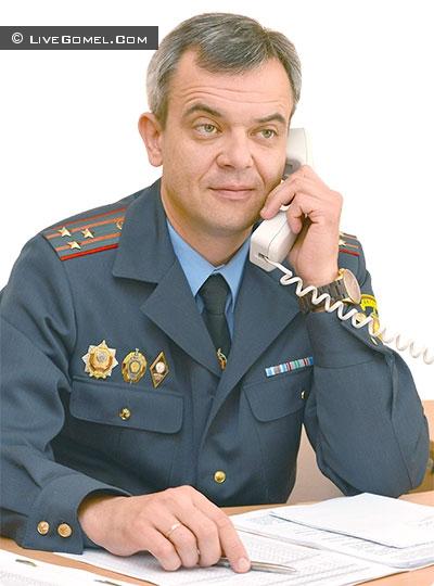 Андрей Баранец - Начальник Советского РОВД