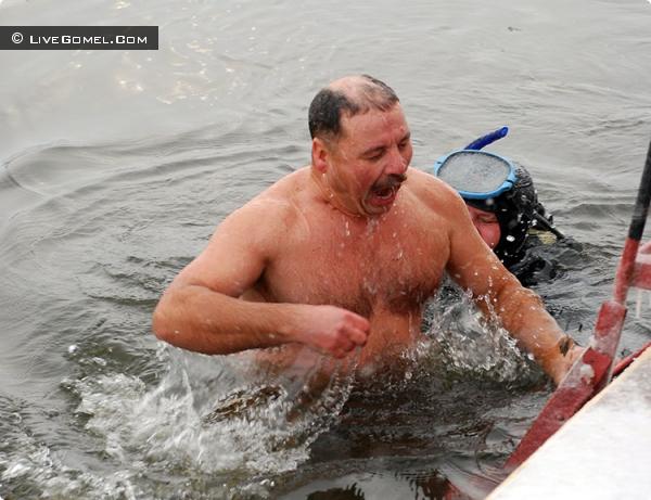 Где в Гомеле можно окунуться на Крещение