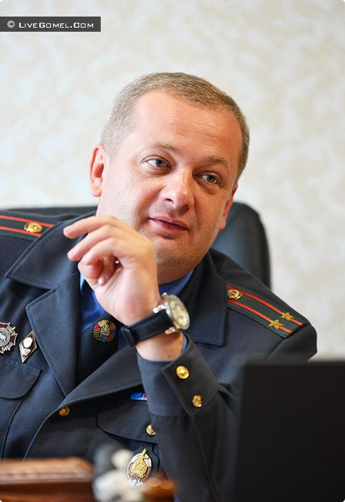 Начальник управления ГАИ УВД Гомельского облисполкома Игорь Макушенко