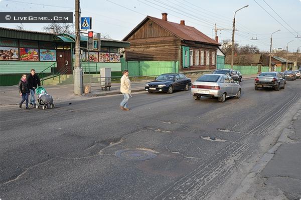 Полесскую «реанимируют». Гомельское городское ЖКХ озвучило адреса капремонта дорожного покрытия