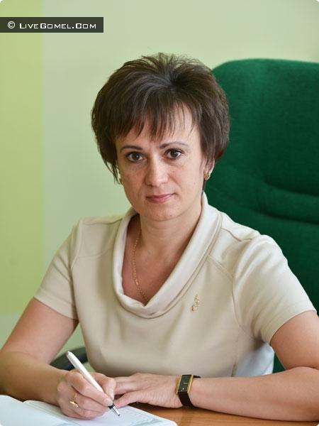 начальник отдела образования, спорта и туризма администрации Советского района Гомеля Елена Ковалёва