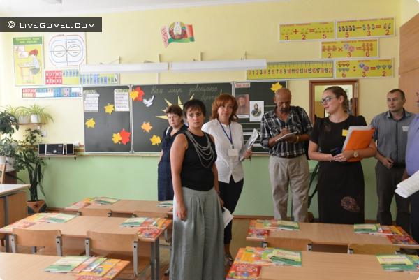 Летняя контрольная. В Советском районе завершена приёмка учреждений образования к новому учебному году