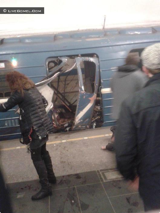 Взрыв на станции метро «Маяковская»