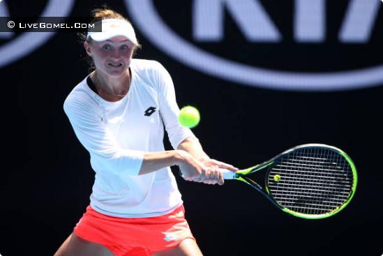 Александра Саснович вышла в 1/16 Australian Open 2019