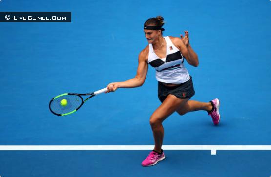 Арина Соболенко вышла в 1/16 Australian Open 2019