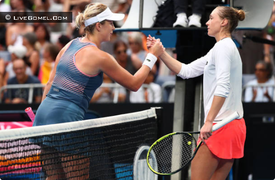 Александра Саснович покидает Australian Open 2019