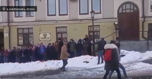 Одесситы собрались на митинг в поддержку несуществующего кандидата в президенты