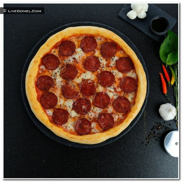 Пицца Пепперони – огненное наслаждение для любителей «погорячее»