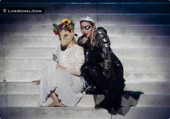 Выступление Мадонны на Евровидении-2019 в Тель-Авиве (Израиль)