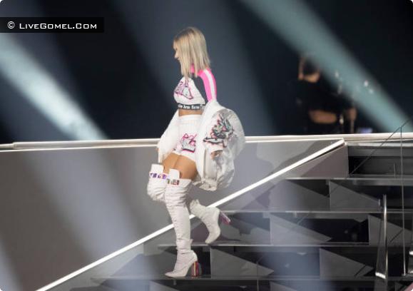 Выступление белорусской певицы Zena на Евровидении-2019