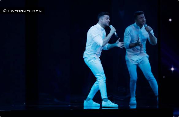 Выступление Сергея Лазарева на Евровидение 2019