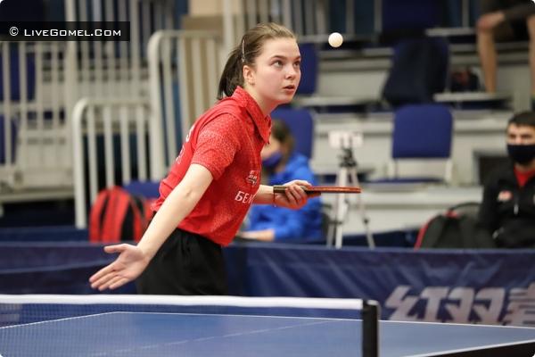 Дарья Василенко (Daria Vasilenka) настольный теннис