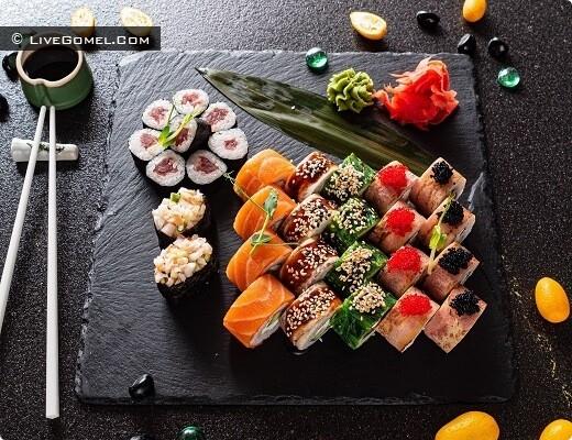Доставки суши на дом - АртСуши