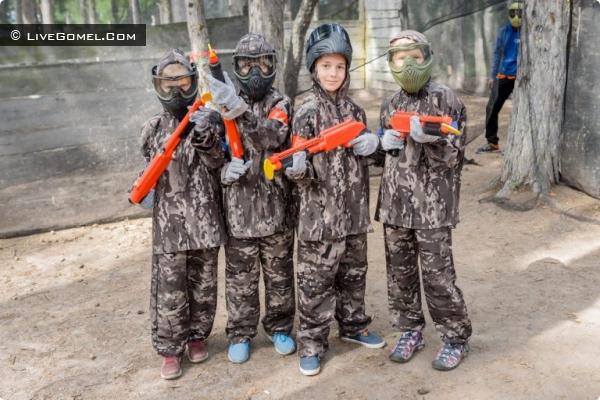 Кидбол - пейнтбол для детей в Минске