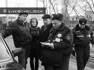 Сотрудники милиции против пьянства