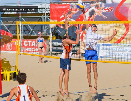 Гомельчане лучше всех играют в пляжный волейбол