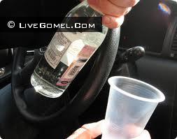 Пьяный за рулем в Гомеле