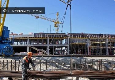 В декабре 2012 откроется новый универсальный зал игровых видов спорта