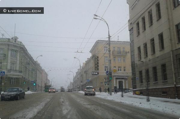 Весна 2013 в Гомеле?! Холодно как зимой!