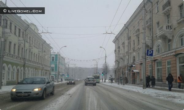 Весна 2013 в Гомеле - очень холодно!