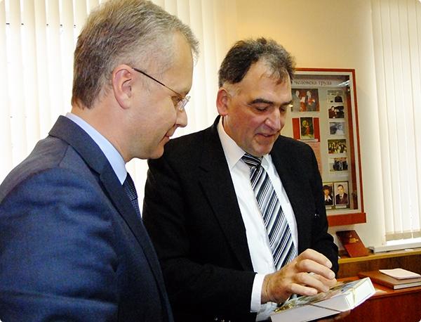 Глава администрации Советского района встретился с бургомистром немецкого Бюттельборна
